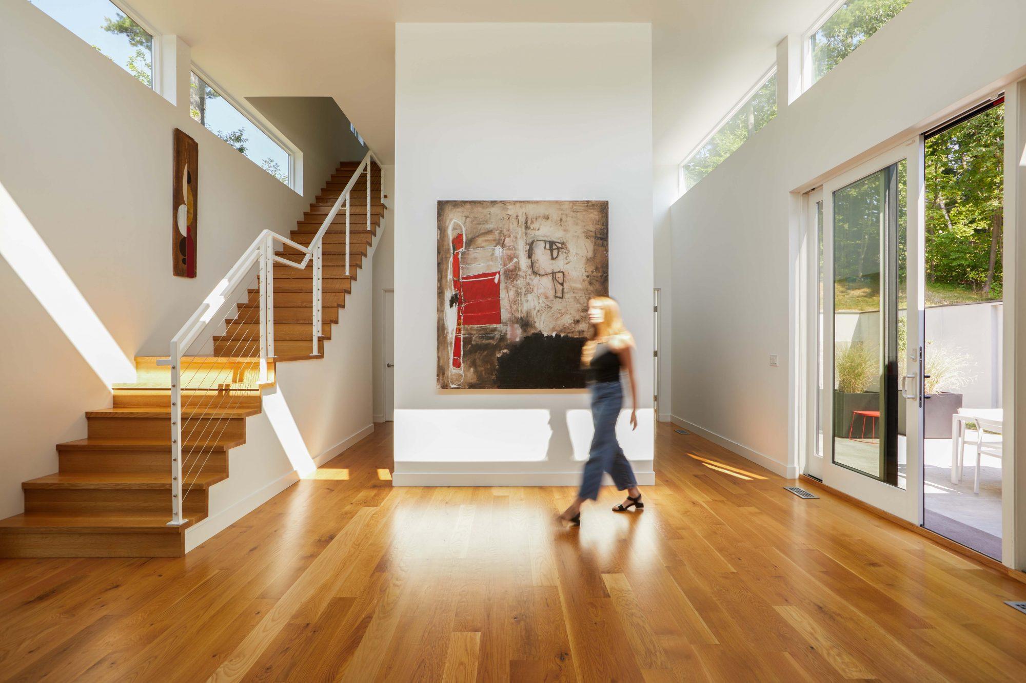 Vermont Modern Home Design Architecture Birdseye